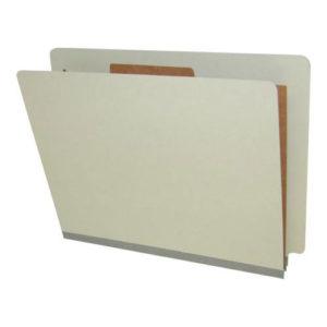 End Tab Classification Folders, 1 Divider