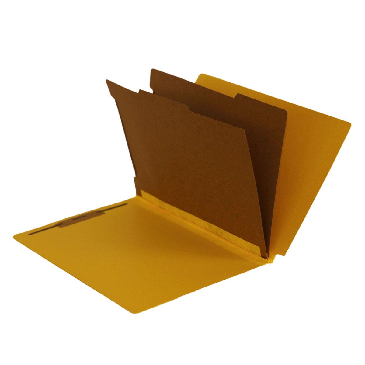 Side Tab Folders, 2 Dividers