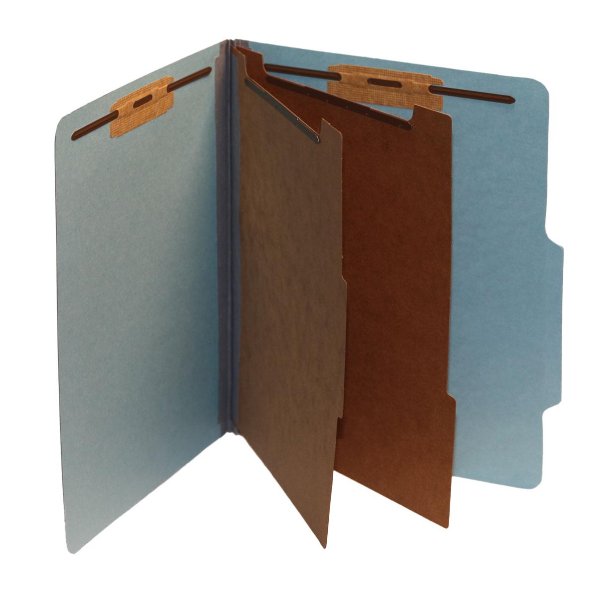 Top Tab Folders, 2 Dividers