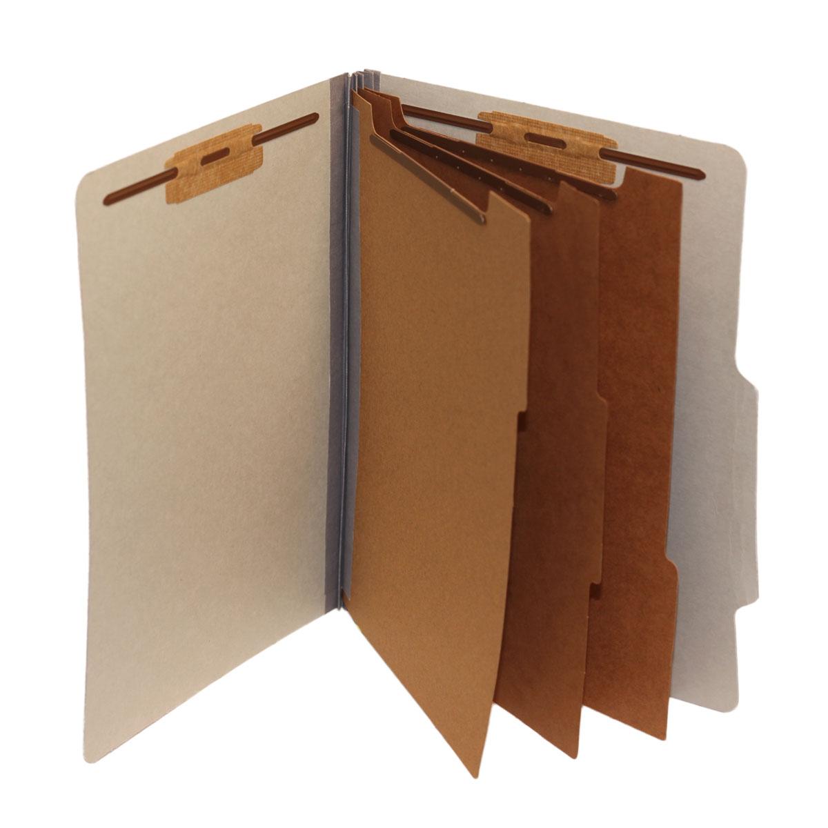 Top Tab Folders, 3 Dividers